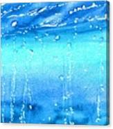 Champagne Sea 2 Canvas Print