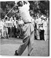 Champion Golfer Ben Hogan Canvas Print