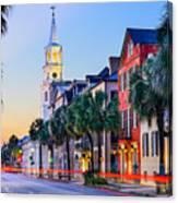 Charleston, South Carolina, Usa Canvas Print