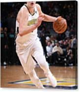Charlotte Hornets V Denver Nuggets Canvas Print