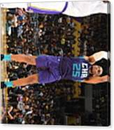 Charlotte Hornets V Los Angeles Lakers Canvas Print