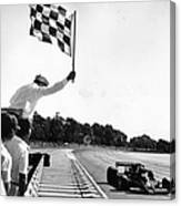 Chequered Flag Canvas Print