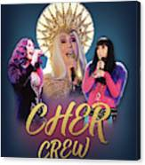 Cher Crew X3 Canvas Print