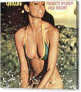 Cheryl Tiegs Swimsuit 1975 Sports Illustrated Cover Canvas Print