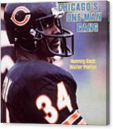Chicago Bears Walter Payton Sports Illustrated Cover Canvas Print