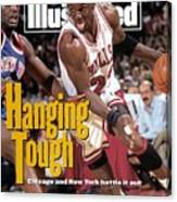 Chicago Bulls Michael Jordan, 1993 Nba Eastern Conference Sports Illustrated Cover Canvas Print