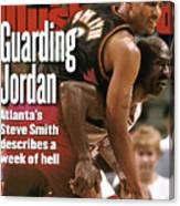 Chicago Bulls Michael Jordan, 1997 Nba Eastern Conference Sports Illustrated Cover Canvas Print