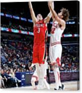 Chicago Bulls V New Orleans Pelicans Canvas Print
