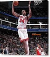 Chicago Bulls V Sacramento Kings Canvas Print