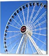 Chicago Centennial Ferris Wheel 2 Canvas Print