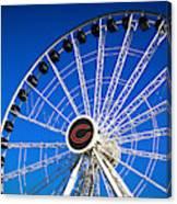 Chicago Centennial Ferris Wheel Canvas Print