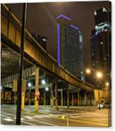 Chicago City Streets Canvas Print