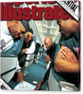 Chicago Confidential Behind The Scenes With Michael Jordan Sports Illustrated Cover Canvas Print