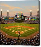 Chicago Cubs V Chicago White Sox Canvas Print