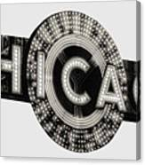 Chicago Theater Marquee - T-shirt Canvas Print