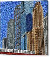 Chicago Wells Street Bridge Canvas Print