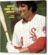 Chicago White Sox Bill Melton Sports Illustrated Cover Canvas Print
