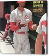 Chicago White Sox Dick Allen... Sports Illustrated Cover Canvas Print