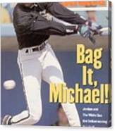 Chicago White Sox Michael Jordan... Sports Illustrated Cover Canvas Print