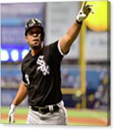 Chicago White Sox V Tampa Bay Rays Canvas Print