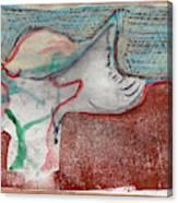Chicken Landscape Canvas Print