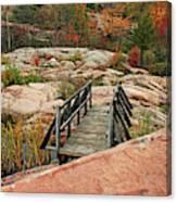 Chikanishing Trail Boardwalk II Canvas Print