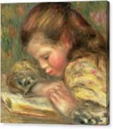 Child Reading, 1890  Canvas Print
