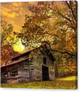 Chill Of An Early Fall Canvas Print
