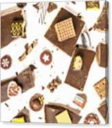 Chocolate Bar Break Canvas Print