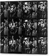 Choereographer George Balanchine Canvas Print