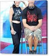 Chris And Alek All Smiles Canvas Print