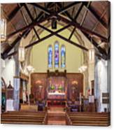 Christ Episcopal Interior Canvas Print