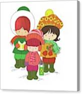 Christmas Angels Canvas Print