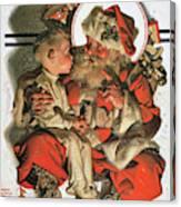 Christmas Eve - Digital Remastered Edition Canvas Print