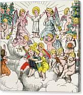 Christmas Fairy Tale Canvas Print