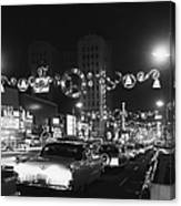 Christmas In Hollywood Canvas Print