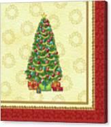 Christmas Tree Balls Canvas Print