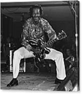 Chuck Berry Performs Live Canvas Print
