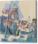 Church At Montigny Sur Loing, 1898  Canvas Print