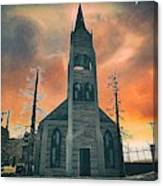 Church Of Days Past Canvas Print