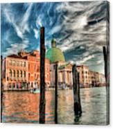 Church Of San Simeone Piccolo, Venice Canvas Print