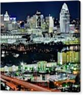 Cinci The Queen City Canvas Print