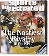 Cincinnati Bengals Caleb Miller... Sports Illustrated Cover Canvas Print