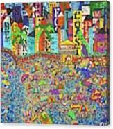 City Meets The Bay Canvas Print