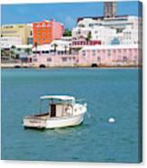 City Of Hamilton Bermuda Canvas Print