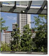 Civic Center Metro Station Los Angeles Canvas Print