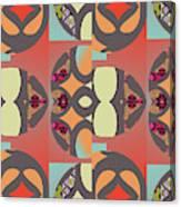 Claire Pattern Canvas Print