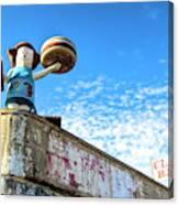 Clam Bar Theme Park Coney Island  Canvas Print