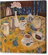 Clarinda's Tea Shoppe Canvas Print