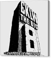 Classic Cklw Logo Canvas Print